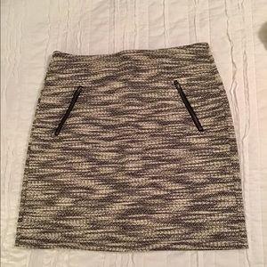 Loft Tweed Mini Skirt